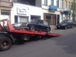 remorquage voiture